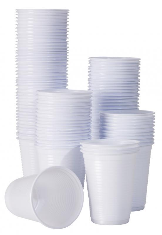 Copos Plásticos Bco/Transp.